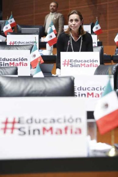 Intervención desde su escaño de la senadora Josefina Vázquez Mota, durante la discusión de un dictamen por el que se expide la Ley General de Educación y se abroga la Ley General de la Infraestructura Física Educativa.
