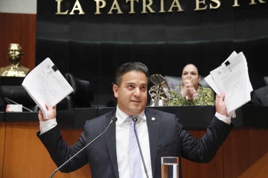 Intervención desde la tribuna del senador Damián Zepeda Vidales para presentar reservas a un dictamen por el que se expide la Ley General de Educación y se abroga la Ley General de la Infraestructura Física Educativa.