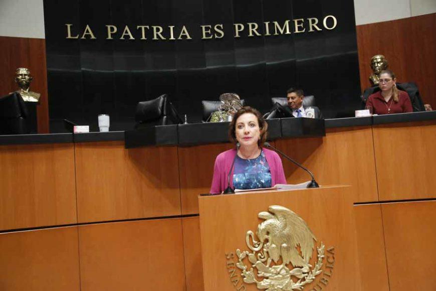 Intervención de la senadora Guadalupe Murguía Gutiérrez, al participar en la discusión de un dictamen de las comisiones unidas de Educación y de Estudios Legislativos Segunda, por el que se expide la Ley General del Sistema para la Carrera de las Maestras y los Maestros.