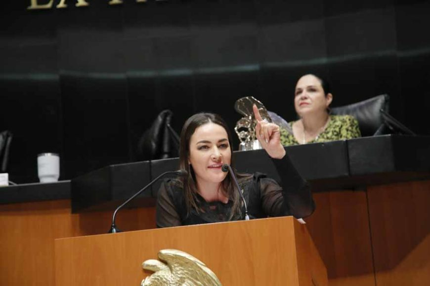 Intervención de la senadora Martha Cecilia Márquez Alvarado, al presentar reservas a un dictamen de las comisiones unidas de Educación y de Estudios Legislativos Segunda, por el que se expide la Ley General del Sistema para la Carrera de las Maestras y los Maestros