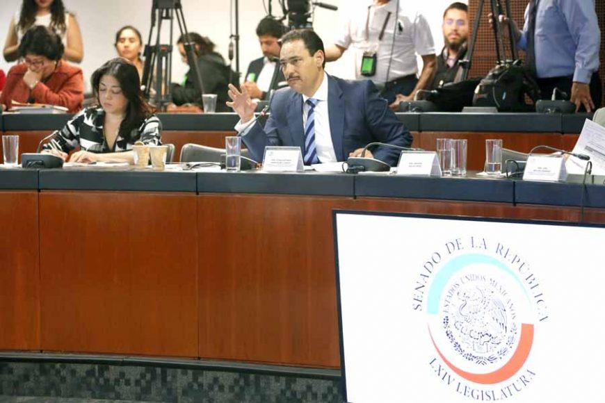 Pregunta del senador Juan Antonio Martín del Campo Martín del Campo a Javier Jiménez Espriú, secretario de Comunicaciones y Transportes, en la comparecencia del funcionario federal ante la Comisión de Comunicaciones y Transportes.