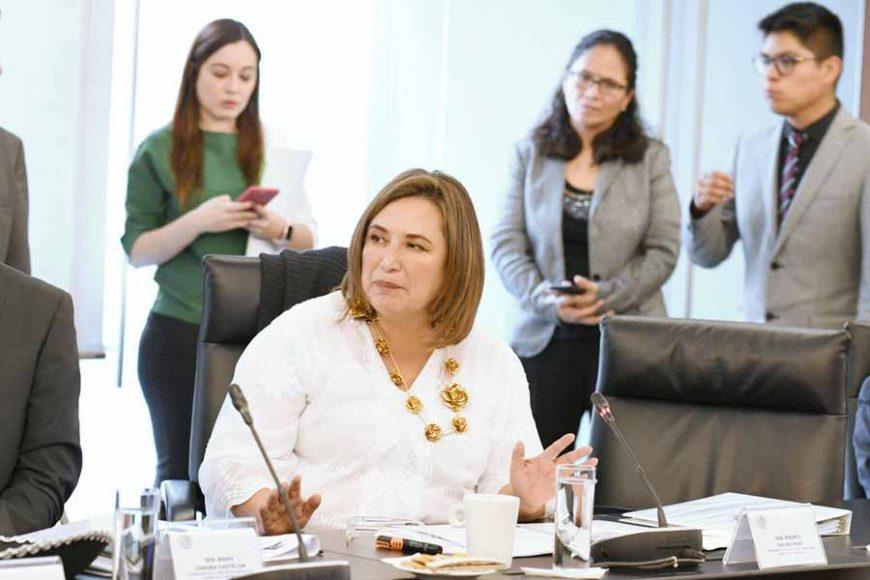 Intervención de la senadora Xóchitl Gálvez Ruiz, en reunión de trabajo de la Comisión de Energía.