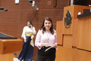Intervención de la senadora Guadalupe Saldaña Cisneros, al presentar reservas a un dictamen de las comisiones unidas de Marina y de Estudios Legislativos Segunda, por el que se reforman diversas disposiciones de la Ley de Vertimientos en las Zonas Marinas Mexicanas.