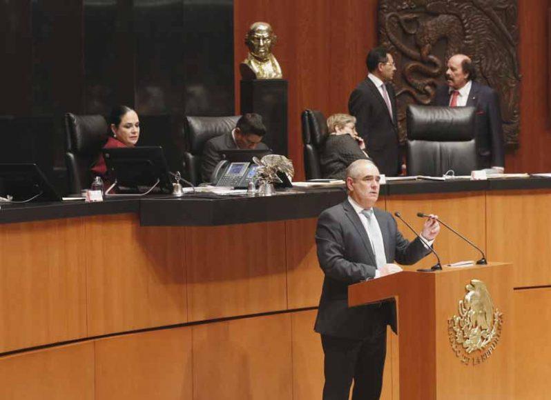 Intervención del senador Julen Rementería del Puerto, al participar en la discusión de un dictamen de la Comisión de Energía por el que se acuerda la idoneidad de Juan José Paullada Figueroa para ser ratificado como consejero independiente del Consejo de Administración de Pemex, para un periodo adicional de cinco años.