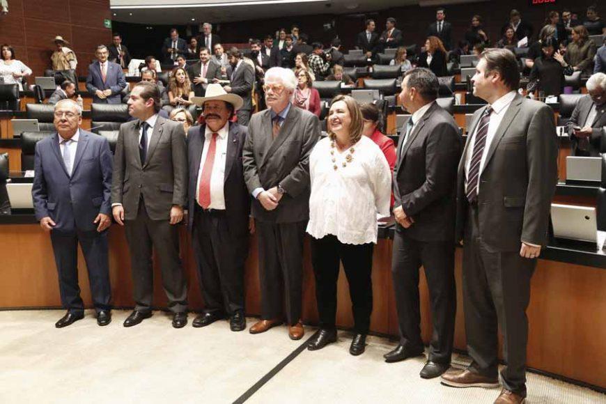Toma de protesta posterior a la ratificación de Juan José Paullada Figueroa para ser ratificado como consejero independiente del Consejo de Administración de Pemex, para un periodo adicional de cinco años.