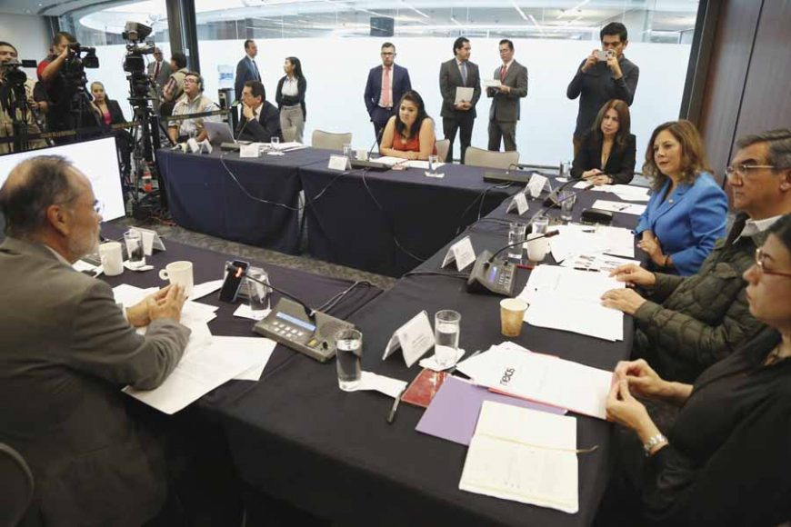 Intervenciones de la senadora Gina Cruz Blackledge en la reunión de trabajo de la Comisión de Relaciones Exteriores América del Norte para referirse al T-MEC.
