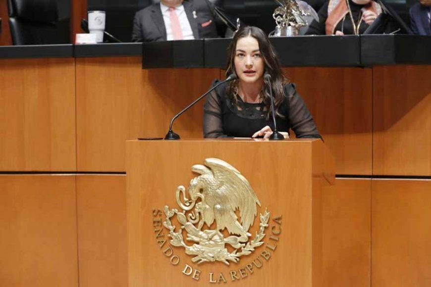 Intervención de la senadora Martha Cecilia Márquez Alvarado, al referirse a la renuncia de Eduardo Tomás Medina Mora Icaza al cargo de Ministro de la Suprema Corte de Justicia de la Nación.