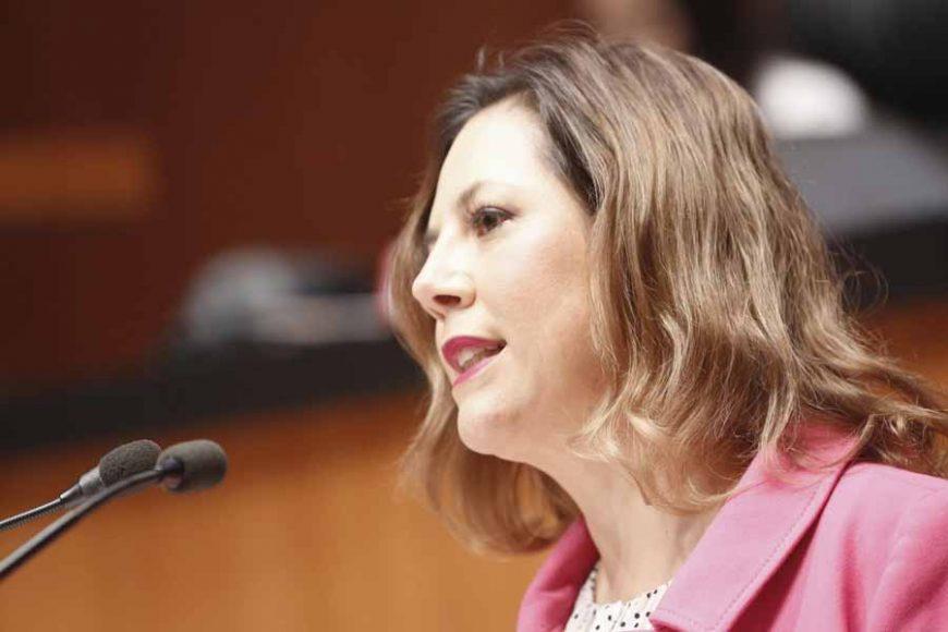 Intervención en tribuna de la senadora Gina Andrea Cruz Blackledge, al presentar proyecto de decreto que reforma la fracción X del artículo 17-H del Código Fiscal de la Federación.