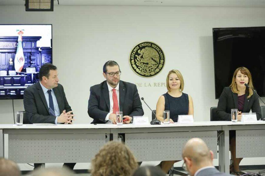 """Palabras de la senadora Minerva Hernández Ramos al inaugurar los trabajos del Foro """"Reformas Fiscales 2020""""."""