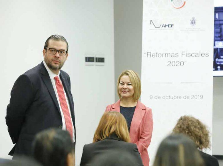 """Minerva Hernández Ramos, Palabras de la senadora Minerva Hernández Ramos al inaugurar los trabajos del Foro """"Reformas Fiscales 2020""""."""