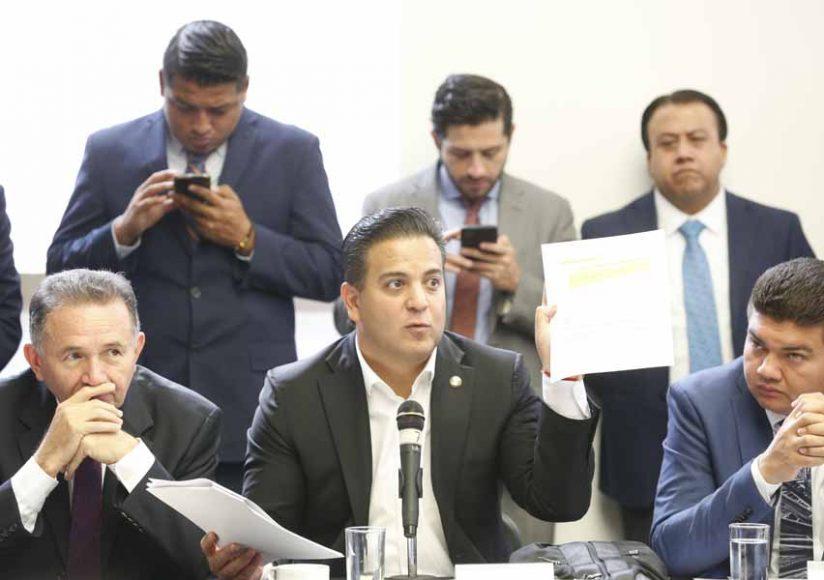Intervención del senador Damián Zepeda Vidales, en la reunión extraordinaria de las comisiones unidas de Puntos Constitucionales, de Hacienda y de Estudios Legislativos Segunda