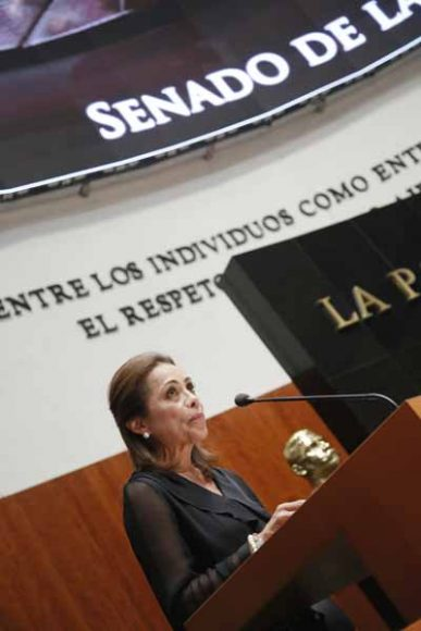 Intervención de la senadora Josefina Vázquez Mota, en la comparecencia de María Luisa Albores González, secretaria de Bienestar, para referirse al análisis del I Informe de Gobierno del Presidente de la República, en materia de política social.