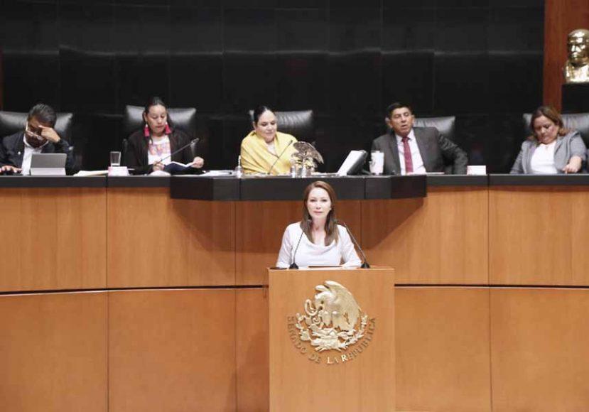 Intervención de la senadora Gloria Elizabeth Núñez Sánchez, en la comparecencia de María Luisa Albores González, secretaria de Bienestar, para referirse al análisis del I Informe de Gobierno del Presidente de la República, en materia de política social.