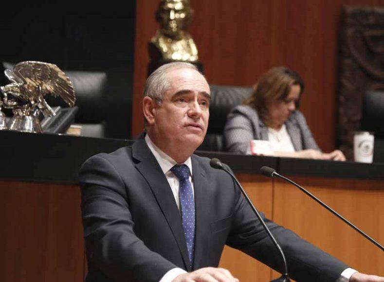 Intervención en tribuna del senador Julen Rementeria del Puerto, al presentar proyecto de decreto por el que se reforma el artículo 113 de la Constitución Política de los Estados Unidos Mexicanos.