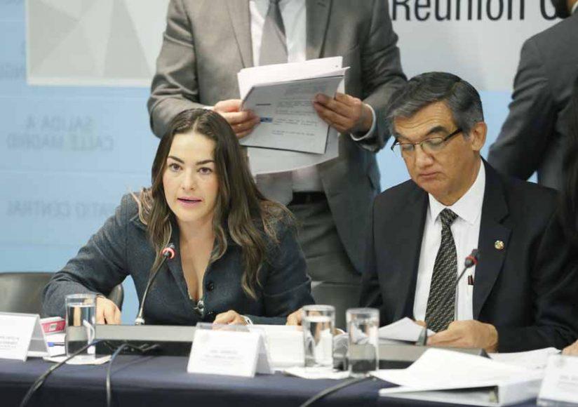 Senadora Martha Cecilia Márquez Alvarado para referirse a una iniciativa que reforma la Ley General de Salud en su artículo 61 en materia de tamiz neonatal