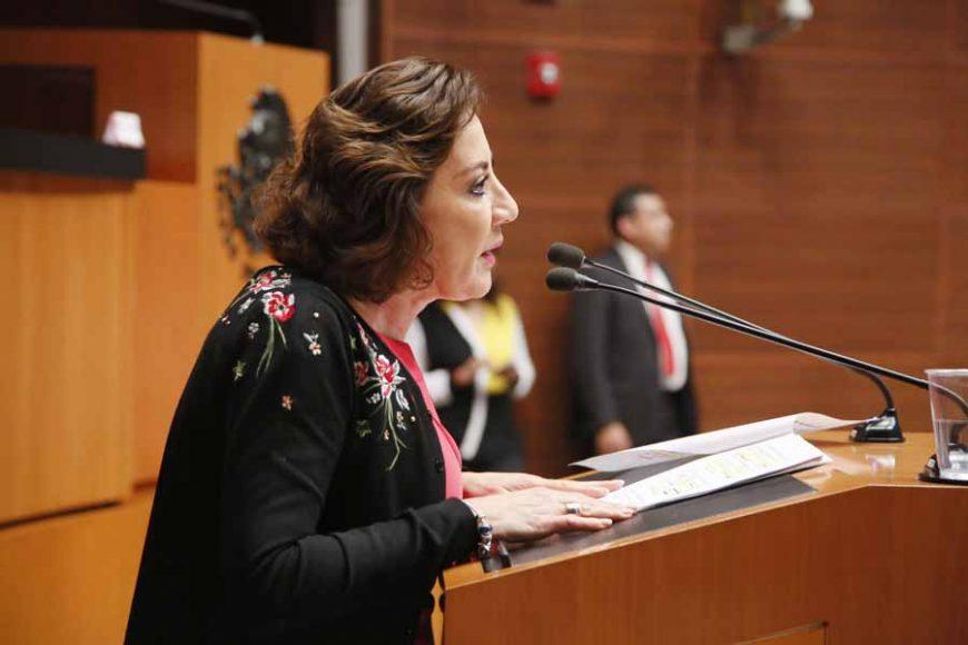 Intervención de la senadora Guadalupe Murguía Gutiérrez, al participar en la discusión de un dictamen de las comisiones unidas de Puntos Constitucionales y de Estudios Legislativos Segunda, por el que se reforman y adicionan diversos artículos de la Constitución, en materia de revocación de mandato.