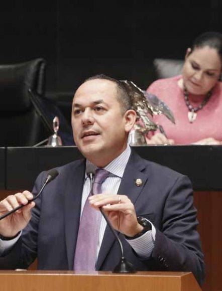 Intervención del senador Erandi Bermúdez Méndez, al participar en la discusión de un dictamen de las comisiones unidas de Puntos Constitucionales y de Estudios Legislativos Segunda, por el que se reforman y adicionan diversos artículos de la Constitución, en materia de revocación de mandato.