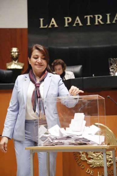 Votación para elegir a la Comisionada o el Comisionado Presidente de la Comisión Reguladora de Energía