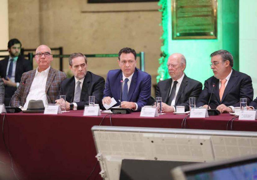Intervención del Coordinador de los senadores del PAN, Mauricio Kuri González, durante la Presentación de la reforma con y para el Poder Judicial.