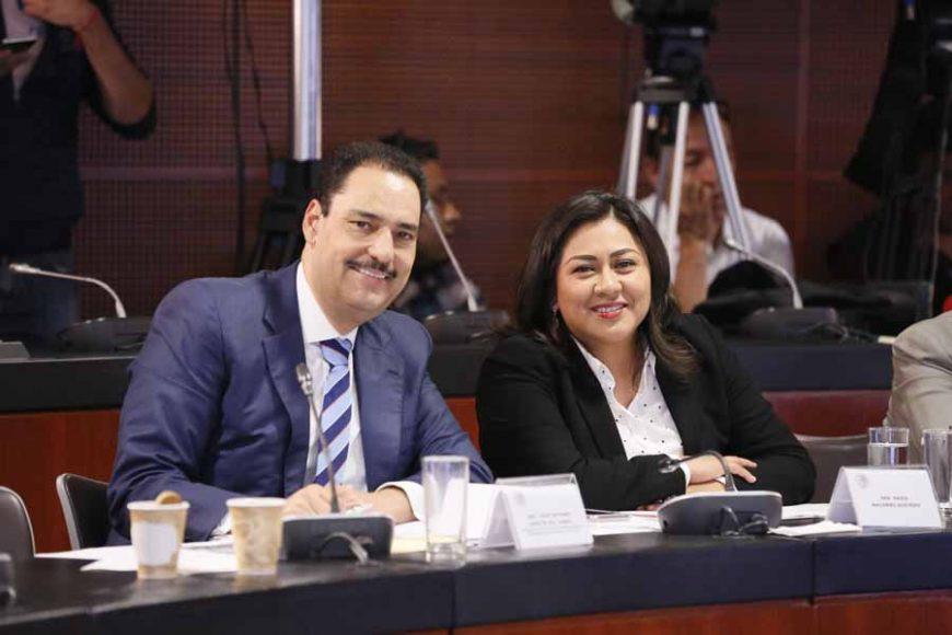 Pregunta de la senadora Nadia Navarro Acevedo a Javier Jiménez Espriú, secretario de Comunicaciones y Transportes, en la comparecencia del funcionario federal ante la Comisión de Comunicaciones y Transportes.