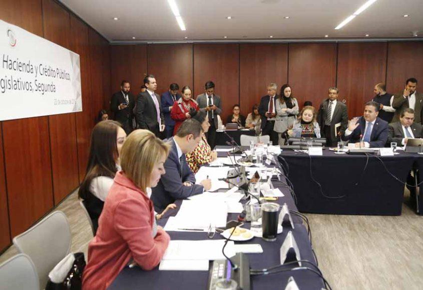 Intervención del senador Damián Zepeda Vidales, en la reunión de las comisiones unidas de Hacienda y Crédito Público, y de Estudios Legislativos Segunda.