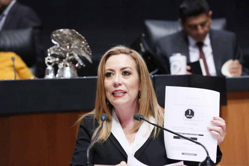 Intervención en tribuna de la senadora Alejandra Noemí Reynoso Sánchez, para presentar el posicionamiento del Grupo Parlamentario del PAN, al dictamen por el que se por el que se reforman y adicionan diversas disposiciones de la Ley General de Salud.