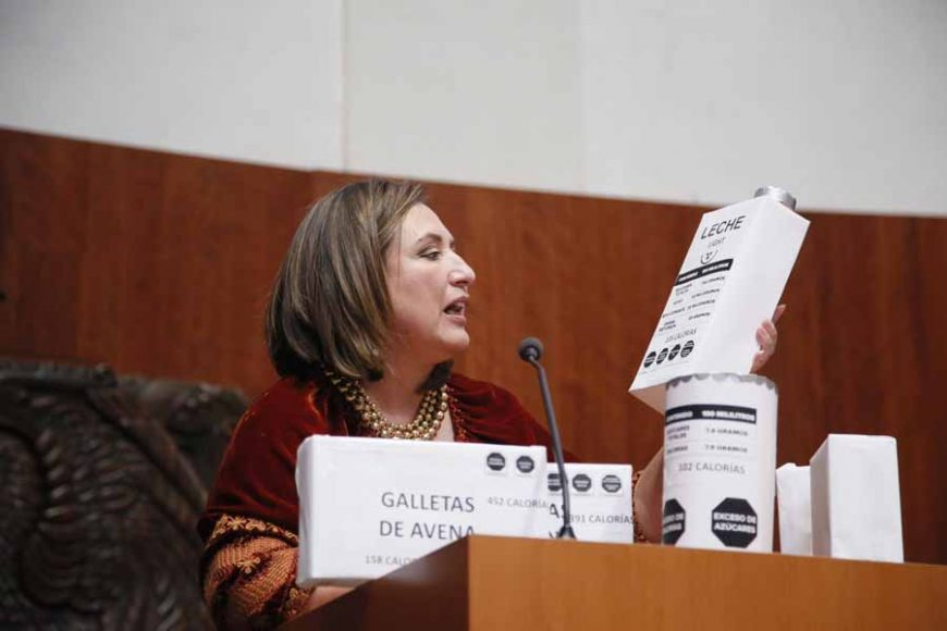Intervención en tribuna de la senadora Xóchitl Gálvez Ruiz, para referirse a un dictamen por el que se por el que se reforman y adicionan diversas disposiciones de la Ley General de Salud.