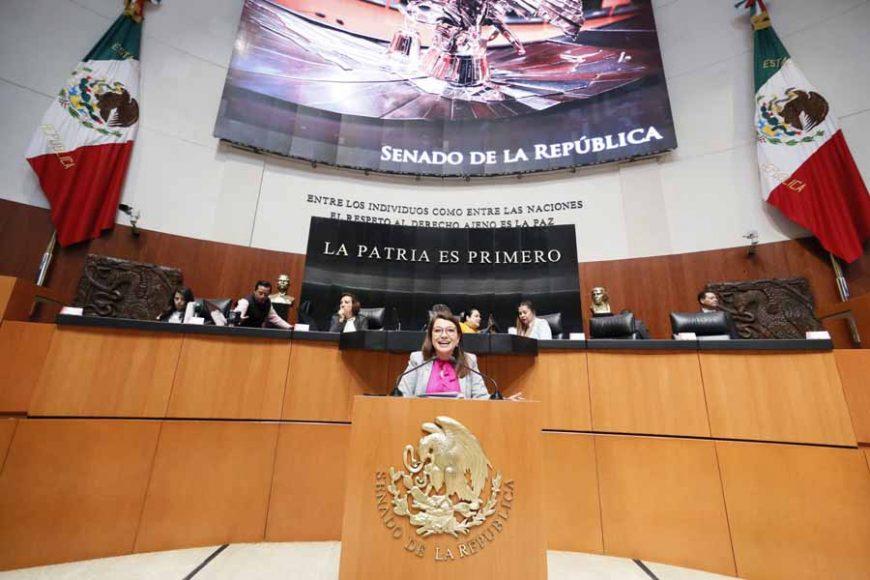 Intervención en tribuna de la senadora Guadalupe Saldaña Cisneros, para presentar reservas a un dictamen por el que se por el que se reforman y adicionan diversas disposiciones de la Ley General de Salud.