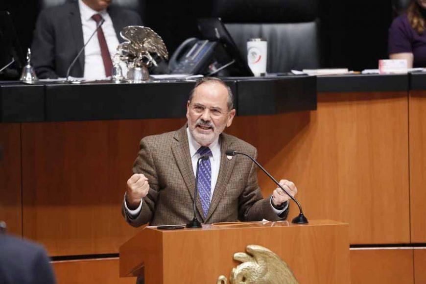 Intervención del senador Gustavo Madero Muñoz, al participar en la discusión de un punto de acuerdo para solicitar la comparecencia del secretario de Seguridad Pública y Protección Ciudadana, Alfonso Durazo Montaño.