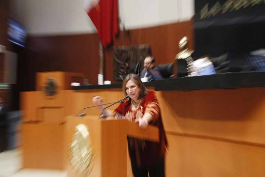 Intervención en tribuna de la senadora Xóchitl Gálvez Ruiz para referirse a un punto de acuerdo por el que se solicita la comparecencia del secretario de Seguridad Pública y Protección Ciudadana, Alfonso Durazo Montaño.