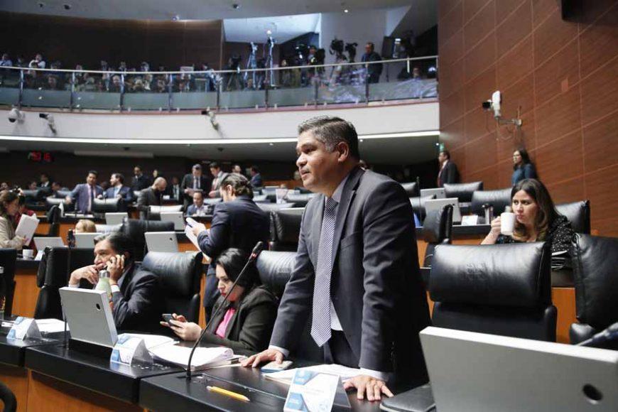 Intervención del senador Víctor Fuentes Solís, al participar en la discusión de un dictamen de la Comisión de Medio Ambiente, Recursos Naturales y Cambio Climático, por el que el Senado de la República emite una declaración de emergencia climática y se exhorta al Poder Ejecutivo Federal a realizar diversas acciones en la materia.