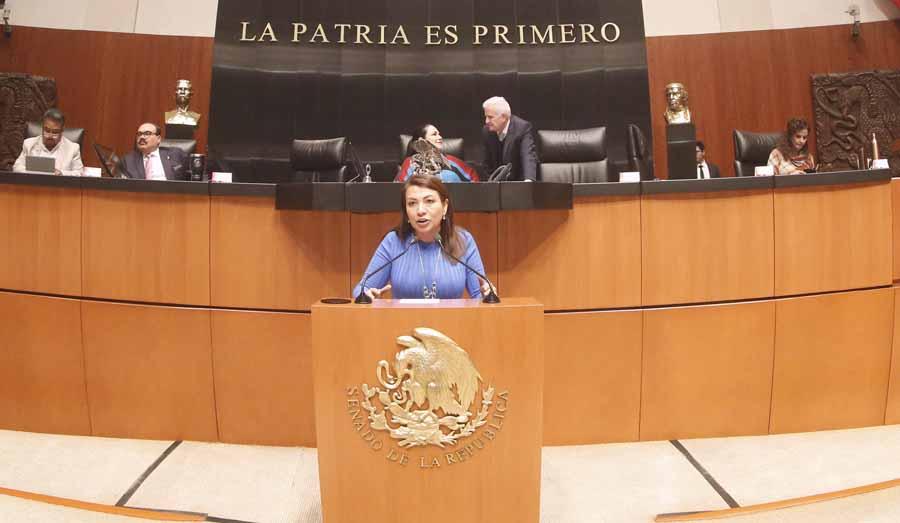 Intervención en tribuna de la senadora Guadalupe Saldaña Cisneros para referirse a un dictamen correspondiente a la Minuta con Proyecto de Decreto por el que se Reforman, Adicionan y Derogan diversas disposiciones de la Ley Federal de Derechos.