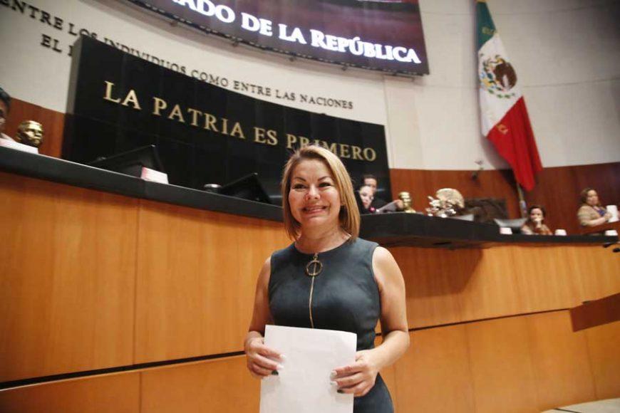 Intervención de la senadora Minerva Hernández Ramos, al presentar reservas a un dictamen de las comisiones unidas de Hacienda y Crédito Público, y de Estudios Legislativos Segunda, por el que se expide la Ley de Ingresos de la Federación para el Ejercicio Fiscal 2020.