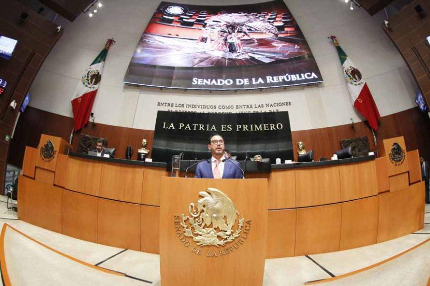 Intervención en tribuna del senador Raúl Paz Alonzo, para presentar punto de acuerdo por el que se exhorta a las secretarías de Economía y a la de Medio Ambiente y Recursos Naturales; así como a la Comisión Nacional del Agua a dar celeridad a la publicación del PROY-NOM-001-SEMARNAT-2017, que establece los límites permisibles de contaminantes en las descargas de aguas residuales en cuerpos receptores propiedad de la nación.