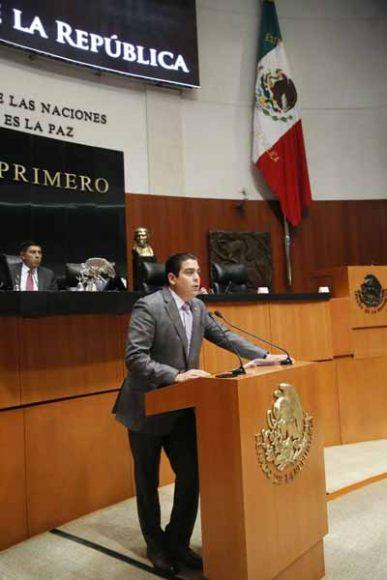 Intervención en tribuna del senador Ismael García Cabeza de Vaca, al presentar iniciativa con proyecto de decreto por el que se reforma el artículo 2 de la Ley de Impuesto al Valor Agregado.