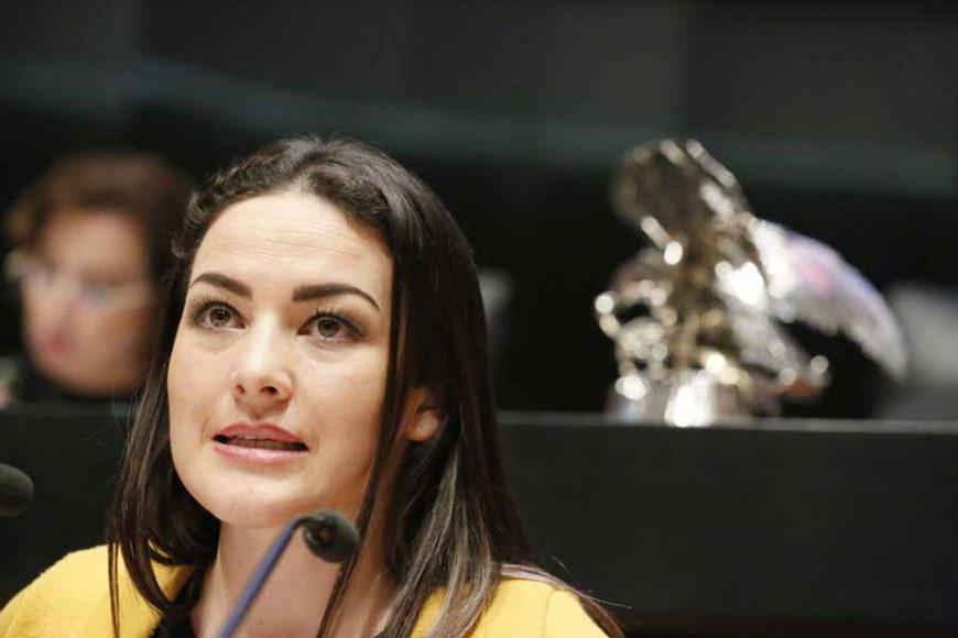 Intervención de la senadora Martha Cecilia Márquez Alvarado, al presentar una iniciativa que adiciona una nueva fracción IV al artículo 82 de la Ley General de Desarrollo Social.