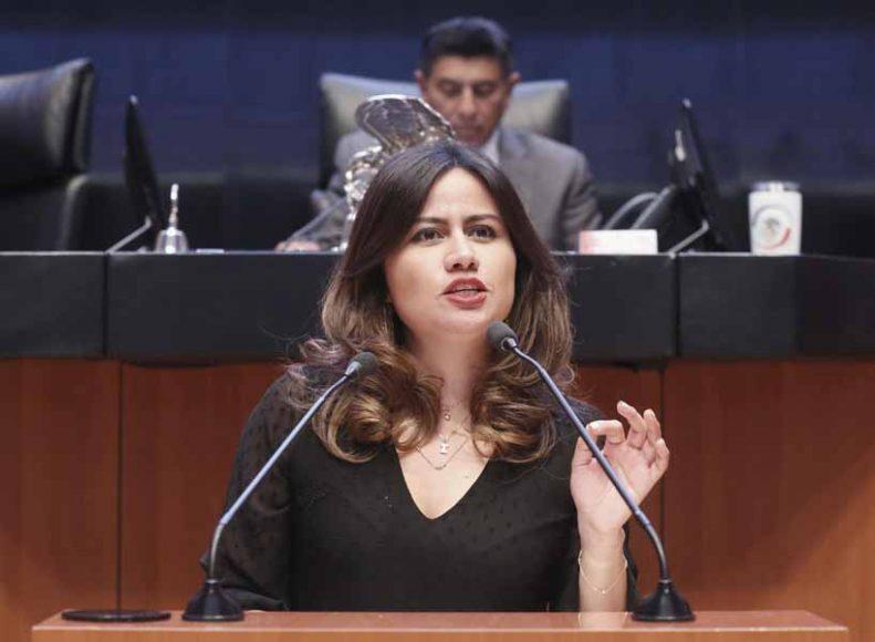 Intervención en tribuna de la senadora Indira Rosales San Román para presentar el posicionamiento del GPPAN a un dictamen de las comisiones Unidas de Derechos Humanos y de Justicia por el que se propone la terna de candidaturas a Ocupar la titularidad de la Comisión Nacional de los Derechos Humanos para el periodo 2019-2024.