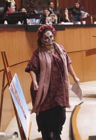 Intervención de la senadora Xóchitl Gálvez Ruiz, al participar en la discusión de un dictamen de las comisiones unidas de Derechos Humanos y de Justicia, por el que se propone la terna de candidaturas a ocupar la titularidad de la Comisión Nacional de los Derechos Humanos para el periodo 2019-2024.