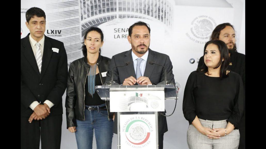 """Conferencia de prensa del senador Raúl Paz Alonzo, para hablar sobre la """"Jornada de Agua, Mares y Océanos"""""""