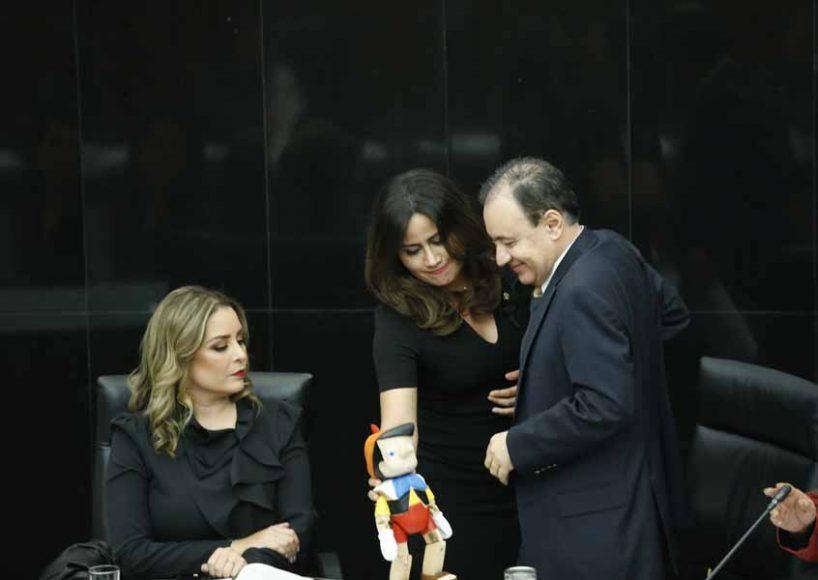 Intervención de la senadora Indira Rosales San Román, durante la comparecencia del Dr. Alfonso Durazo Montaño, Secretario de Seguridad y Protección Ciudadana ante la Comisión de Seguridad Pública.