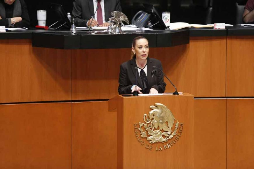 Intervención en tribuna de la senadora Alejandra Noemí Reynoso Sánchez, al presentar iniciativa con proyecto de decreto que adiciona un párrafo al artículo 60 de la Ley Federal del Trabajo.