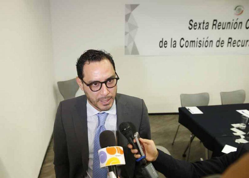 Entrevista al senador Raúl Paz Alonzo, al término de la reunión de la Comisión de Recursos Hidráulicos