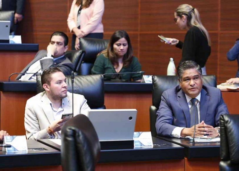 Intervención del senador Víctor Fuentes Solís, al referirse al tema de la inseguridad y el tráfico de armas en el país.