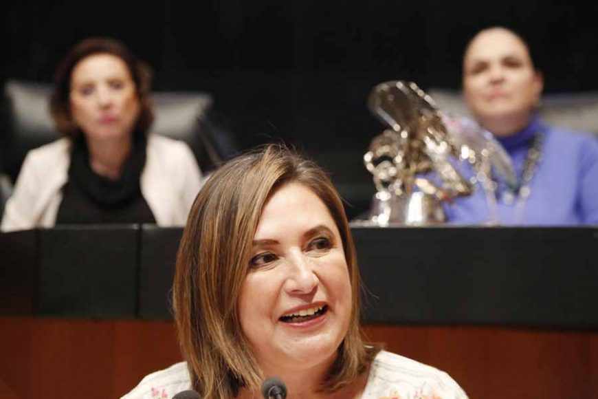 Intervención de la senadora Xóchitl Gálvez Ruiz para referirse a un dictamen de la Comisión de Energía, por el que se valida la idoneidad de las propuestas realizadas por el titular del Ejecutivo federal, para ocupar el cargo de comisionada o comisionado presidente de la Comisión Nacional de Hidrocarburos.
