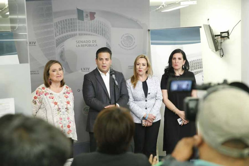 Miente Monreal respecto a chat de senadores de Acción Nacional; quiere distraer la atención del fraude que cometieron en la elección de la CNDH.