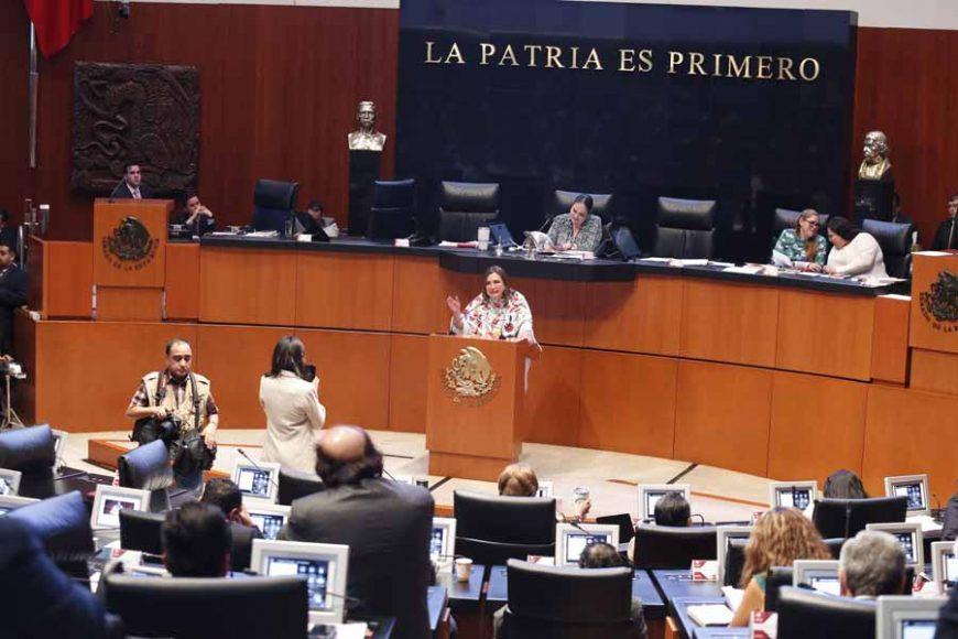 Intervención de la senadora Xóchitl Gálvez Ruiz, para referirse a la moción de procedimiento presentada por el senador Emilio Álvarez Icaza Longoria, con la que solicita la reposición del procedimiento de designación de la persona titular de la Comisión Nacional de los Derechos Humanos.
