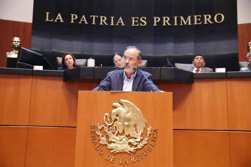 Intervención en tribuna del senador Gustavo Madero Muñoz para referirse a la moción de procedimiento presentada por el senador Emilio Álvarez Icaza Longoria, con la que solicita la reposición del procedimiento de designación de la persona titular de la Comisión Nacional de los Derechos Humanos.