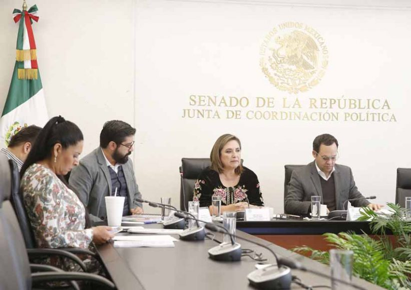 Intervención de la senadora Xóchitl Gálvez Ruiz en la Comisión de Anticorrupción, Transparencia y Participación Ciudadana para referirse al informe de labores del primer año.
