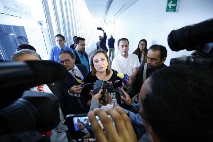 Senadora Xóchitl Gálvez Ruiz en entrevista
