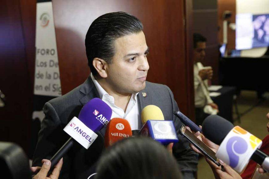 Senador Damián Zepeda Vidales en entrevista